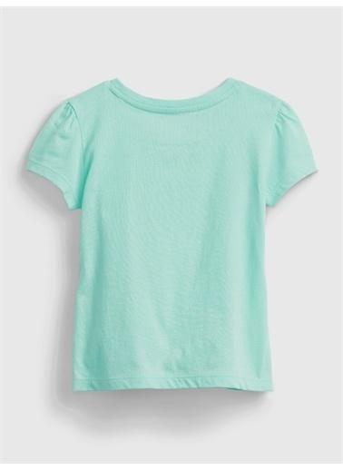 Gap %100 Organik Pamuk T-Shirt Pembe